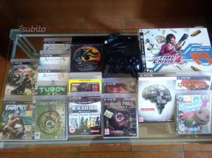 Lotto PS 3 ultraslim con giochi originali