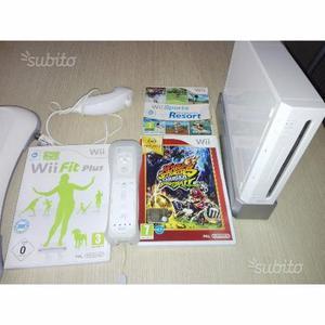Nintendo Wii + Wii fit plus