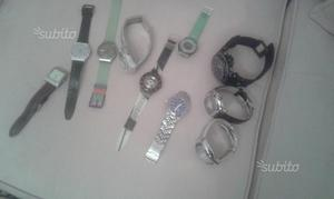 Orologi swatch e chronotech