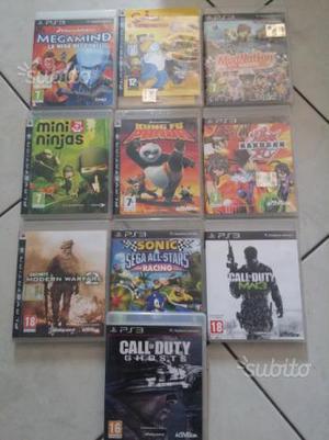 Ps3 Vari giochi e accessori