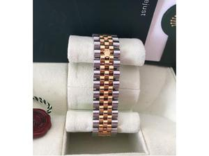 Rolex datejust acciaio oro  garanzia