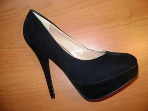 Scarpe donna Tg.38 Tacco 12 cm - usate