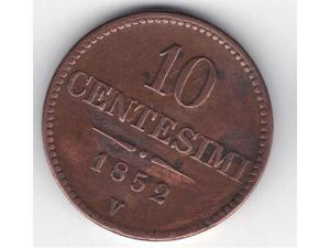 10 centesimi  - Regno Lombardo Veneto