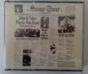 2XCD J.Lennon&Yoko Ono,Some Time In New York City