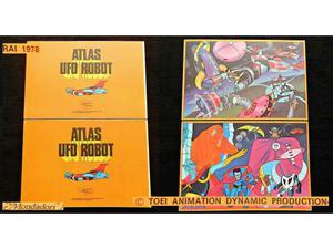 ATLAS UFO ROBOT GOLDRAKE vintage anime tv cartoni  TOEI