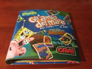 Album carte Spongebob gli amici del mare crai
