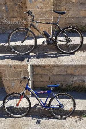 Bici Mountain Bike, in coppia o singole