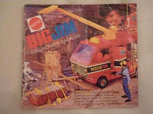 Big Jim Mattel Catalogo  in Inglese Il Primo Ultrararo