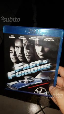 Blu ray fast and furious