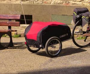Carrello rimorchio bici