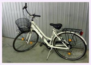 City bike da donna bianca