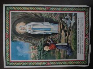 Immagine madonna di lourdes da collezione