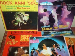 LOTTO di 5 LP / 33 giri di Rock 'N' Roll Hits