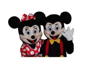 Mascotte Topolino e Minnie - Vendita