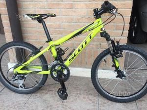"Mountain bike bambino SCOTT ammortizzata 20"""