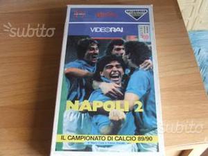 Napoli Calcio Vhs vintage e altro