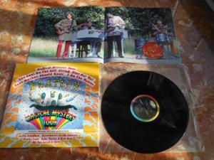 THE BEATLES - magical mystery tour disco vilile 33 giri LP
