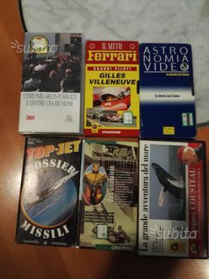 VHS originali:Ferrari e Gilles Villeneuve e al