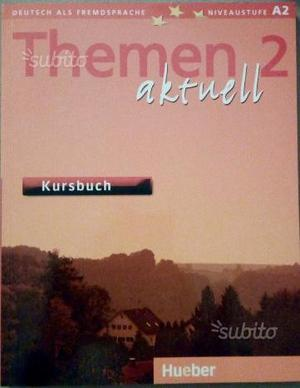 Aktnell 2 libri corso tedesco testo ed esercizi