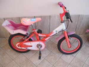 """Bicicletta bici Trubbiani da bambina 14"""" Butterfly"""