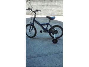 "Bicicletta bici da bambino ruota da 14"" con ruotine"