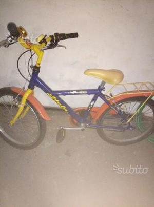 Bicicletta bimbo 6/7 anni atala