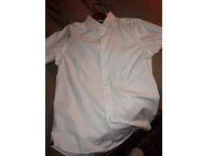 Camicia kamiceria slim bianca taglia 44