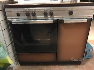 Cucina gas 4 fuochi con forno. Prezzo eccezionale