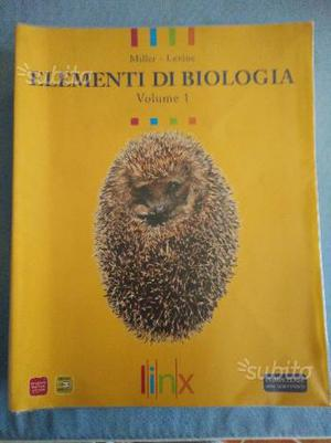 ELEMENTI DI BIOLOGIA - VOL. 1 e 2
