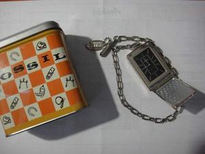 FOSSIL orologio da tasca ful metal