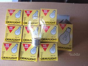 Lampade incandescenza  watt