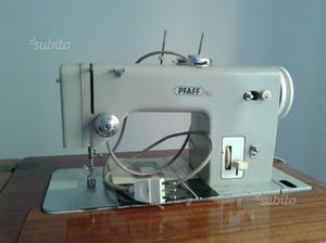 Macchina da cucire manuale a pedale pfaff anni posot class for Pedale elettrico per macchina da cucire