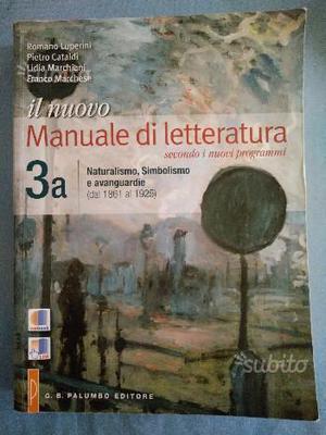 Manuale di Letteratura Vol. 3a + 3b