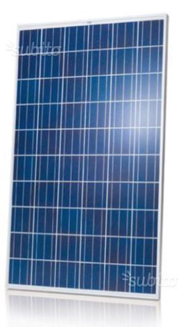 Pannelli fotovoltaici solari 235 w policristallini
