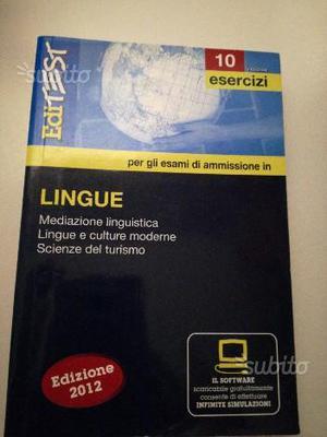 Test ammissione Lingue e facoltà umanistiche