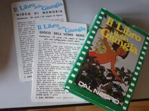 Disney, carte il libro della giungla, vintage