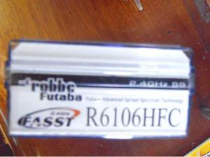 Futaba ricevente Fasst R HFC 2.4ghz (nuova)