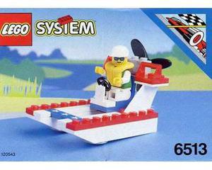 LEGO  Aeroscafo Nave Barca Legoland City Porto