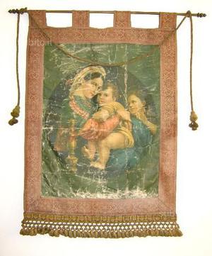 Stendardo Antico Madonna della Seggiola