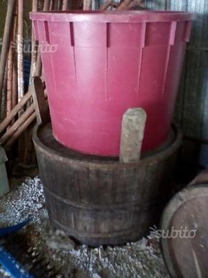 Tinozza in legno antica