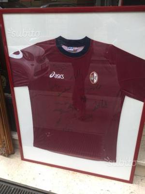 Torino calcio maglia autografata anni