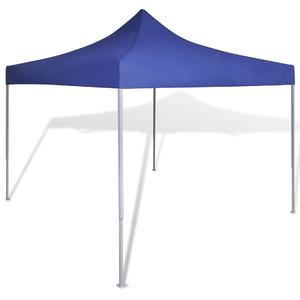 vidaXL Tenda Pieghevole Blu 3 x m