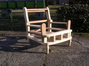 1 Fusto in legno da Imbottire per poltrona