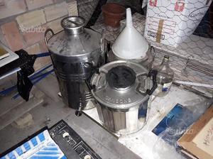 Contenitore inox olio
