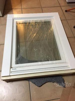 Infisso bianco legno interno alluminio esterno