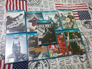 Lotto 9 videogames per console Nintendo Wii U