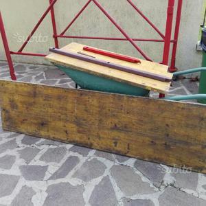 Pannelli in legno gialli +accessori
