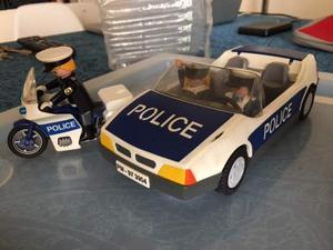 Play mobil lotto polizia auto e moto