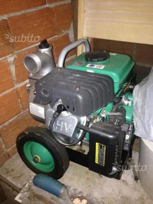 Pompa per irrigazione con motore a scoppio posot class for Pompa per irrigazione