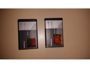 2 batterie originali BL-5C mAh per cellulari Nokia
